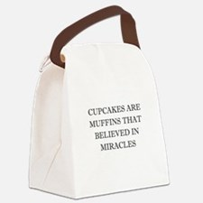 Cute Miracle Canvas Lunch Bag