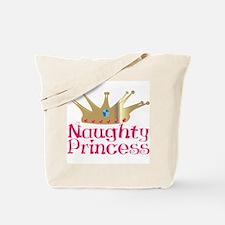 Naughty Princess Tote Bag