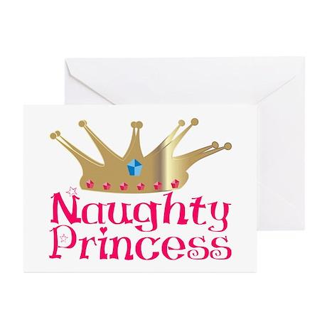 Naughty Princess Greeting Cards (Pk of 10)