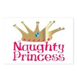 Naughty Princess Postcards (Package of 8)