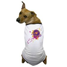 Colorful Music Dog T-Shirt