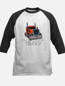 Yes I still play with Trucks Baseball Jersey