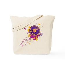 Colorful Music Tote Bag