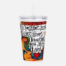 Know That You Are Love Acrylic Double-wall Tumbler