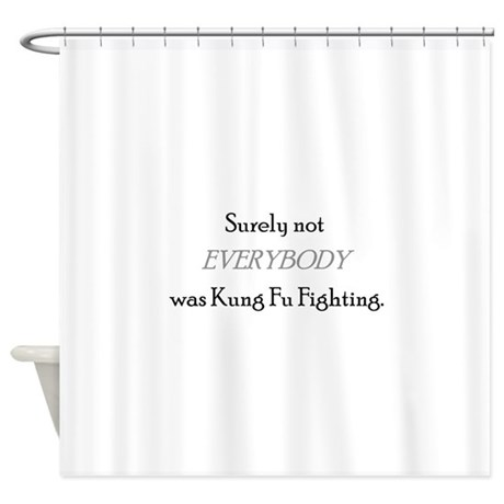 Cute Funny Shower Curtain