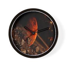 Asteroid Belt Wall Clock