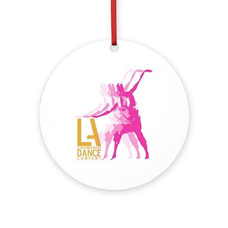 L.A. Contemporary Dance Compa Ornament (Round)