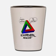 Existential Angst - Penrose Triangle Shot Glass