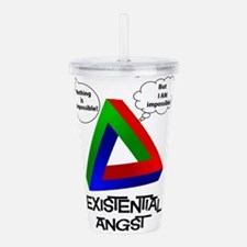 Existential Angst - Pe Acrylic Double-wall Tumbler