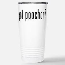 Cute Poodle bichon mix Travel Mug