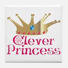 Clever Princess Tile Coaster