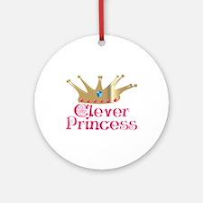 Clever Princess Ornament (Round)