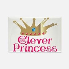 Clever Princess Rectangle Magnet