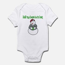 Iraq heart Infant Bodysuit