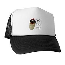 PIRATE SANTA Trucker Hat