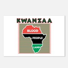 Kwanzaa Blood People Land Postcards (Package of 8)