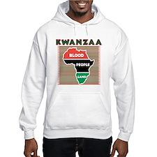 Kwanzaa Blood People Land Hoodie