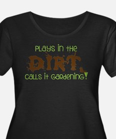 Dirty Dirt Plus Size T-Shirt