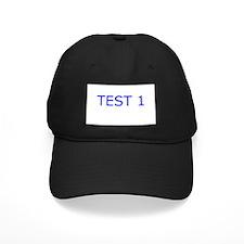 Test 1 Section Baseball Hat