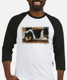 Tri Color Collie Baseball Jersey