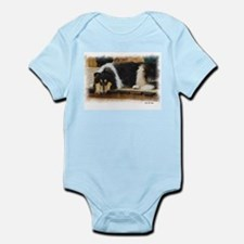 Tri Color Collie Infant Bodysuit