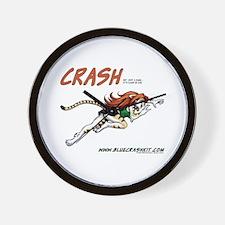 Crash Springs Wall Clock
