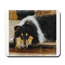 Tri Color Collie Mousepad