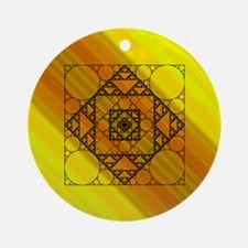 Fractal Geometry Ornament (Round)