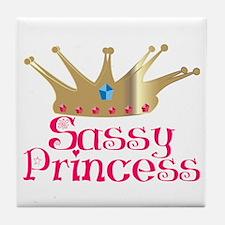 Sassy Princess Tile Coaster