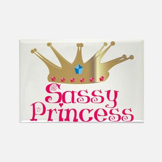 Sassy Princess Rectangle Magnet