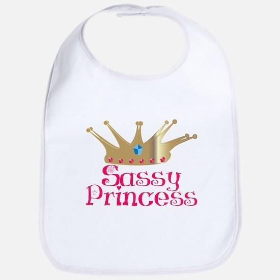 Sassy Princess Bib