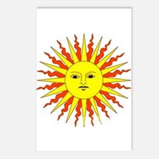 Happy Sunshine Postcards (Package of 8)