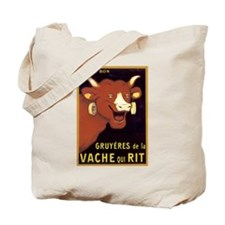Vintage Cheese Poster Tote Bag