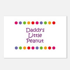 Daddy's Little Peanut Postcards (Package of 8)