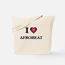 I Love AFROBEAT Tote Bag