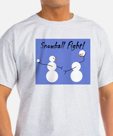 Snowball Fight! T-Shirt