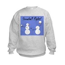 Snowball Fight! Sweatshirt