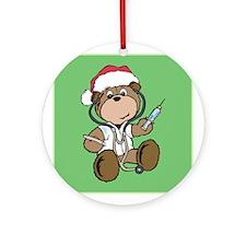 Nurse Christmas Ornament (Round)