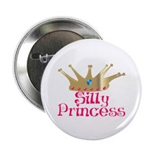 """Silly Princess 2.25"""" Button (10 pack)"""