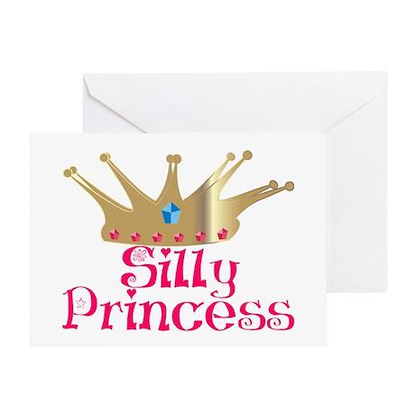 Silly Princess Greeting Card