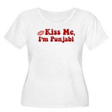 Kiss Me, I'm Punjabi. T-Shirt
