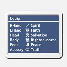 Armor of God Equip Screen Mousepad
