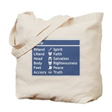 Armor of God Equip Screen Tote Bag