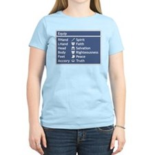 Armor of God Equip Screen T-Shirt