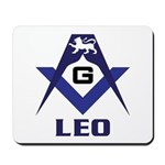 Masonic Leo Mousepad
