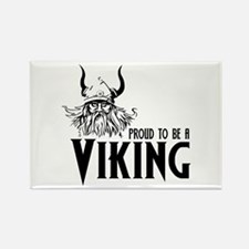 Proud to be a Viking Rectangle Magnet