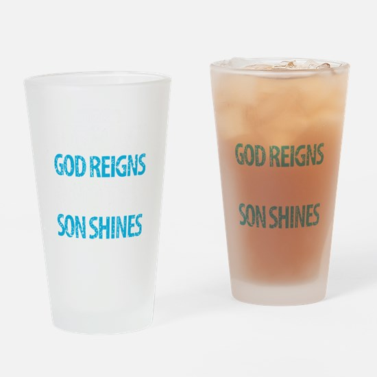 Cute Reigns Drinking Glass
