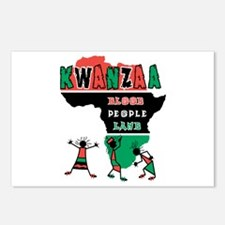Kwanzaa: African Dancers Postcards (Package of 8)