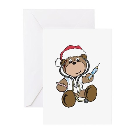 Christmas Gifts Nurse Greeting Cards (Pk of 20)