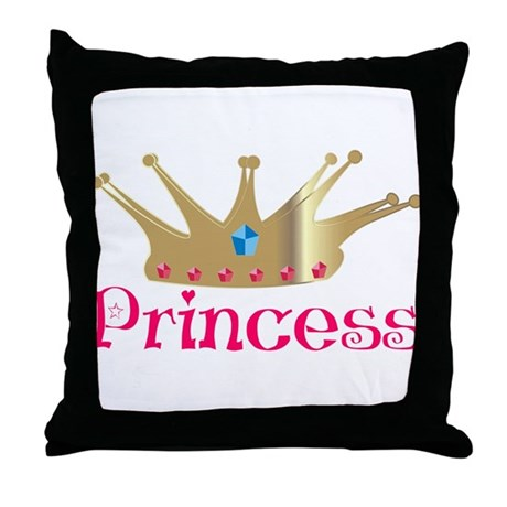 Princess Throw Pillow
